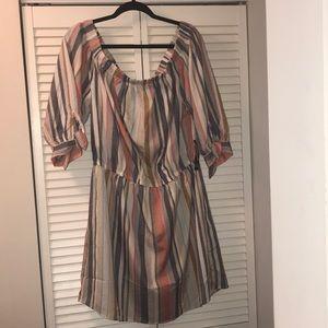✨SALE✨multi color off shoulder dress ✨✨✨✨✨
